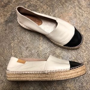 f22f264c863 Shoes - Mint   Rose Leather Espadrille Loafers
